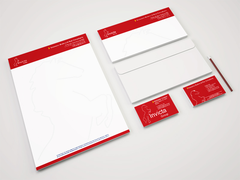 Business stationery printing letterhead envelope insurance finance Joondalup perth