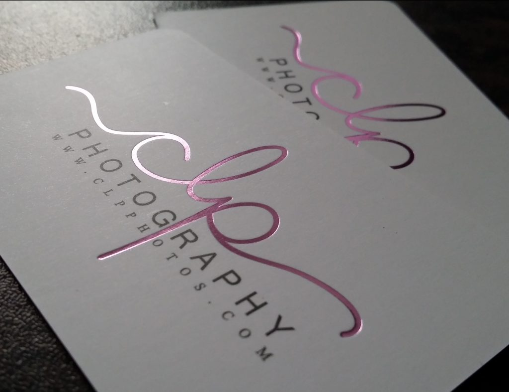 Foil Business Cards Round corners