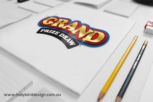 Logo branding graphic design gambling party copy