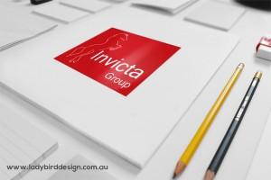 Logo branding-graphic-design-insurance horse commercial
