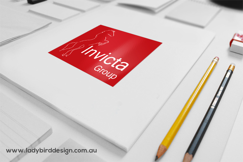 Logo branding-graphic-design-insurance horse commercial