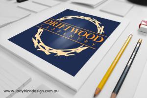 Logo graphic design carpenter tradie small business perth