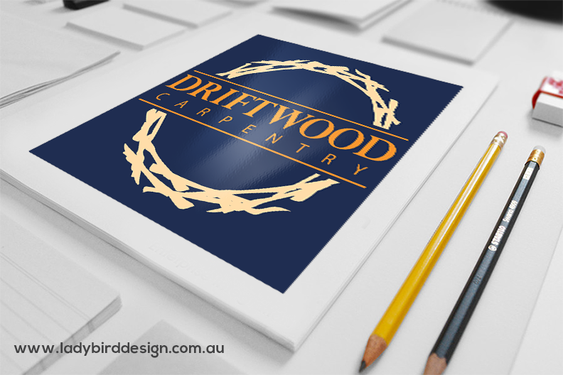 Logo graphic design carpenter tradie small business perth