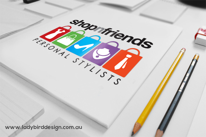 Logo Redesign for Shopnfriends
