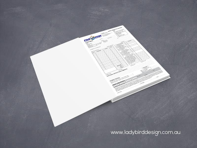 Invoice Books NCR