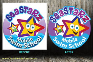 logo repair swim school joondalup perth