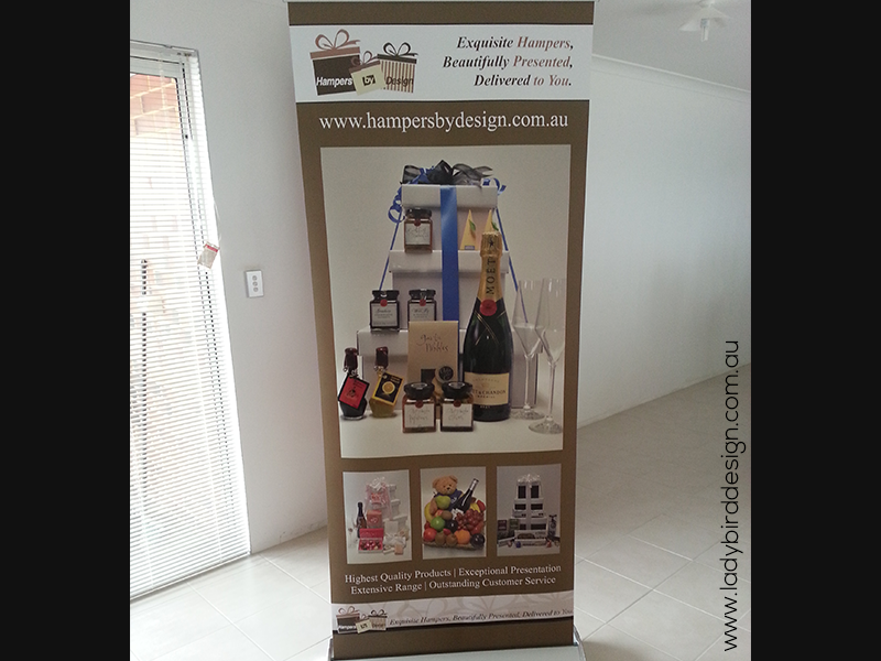 banner pull up retractable small business perth joondalup