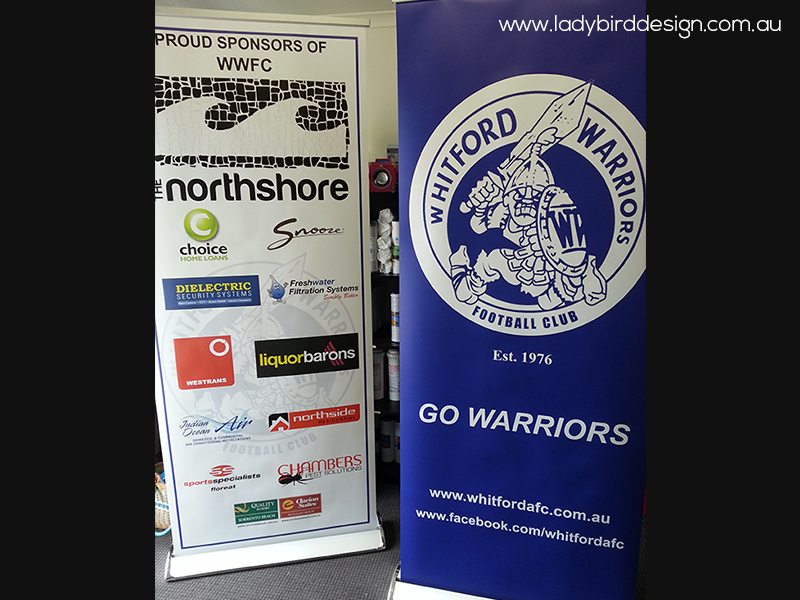 banner retractable pull up perth joondalup