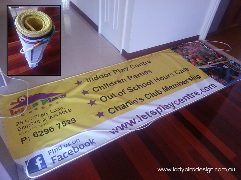 banner vinyl daycare perth joondalup