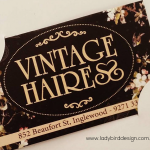 business cards perth hairdresser joondalup