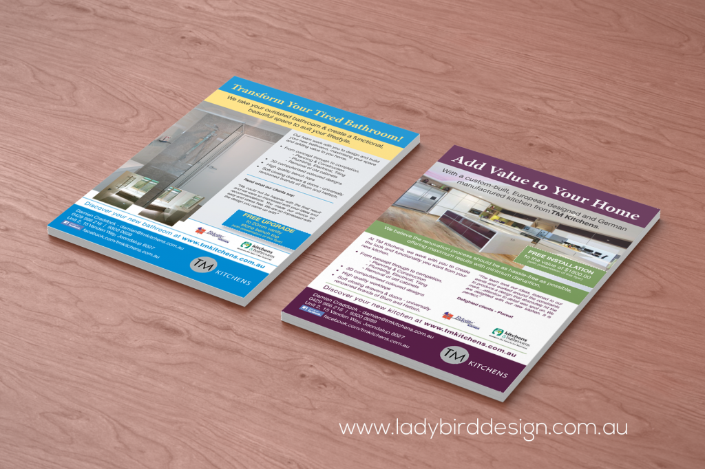 brochures flyers catalogues ladybird design print marketing