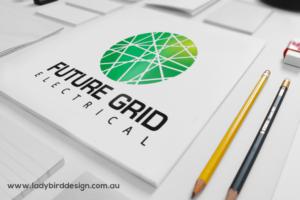 Logo branding Electrician Professional Joondalup Perth