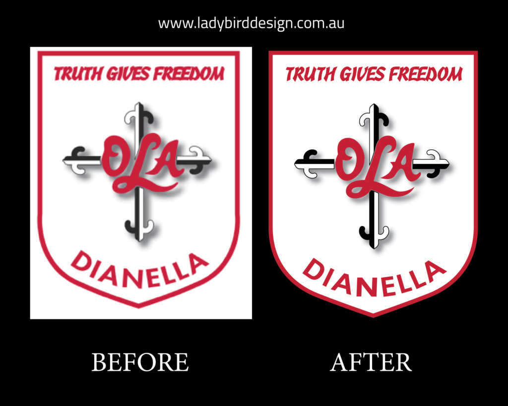Logo Repair Perth School Logo Revamp Logo Remake