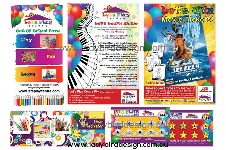 school branding day care education graphic design joondalup