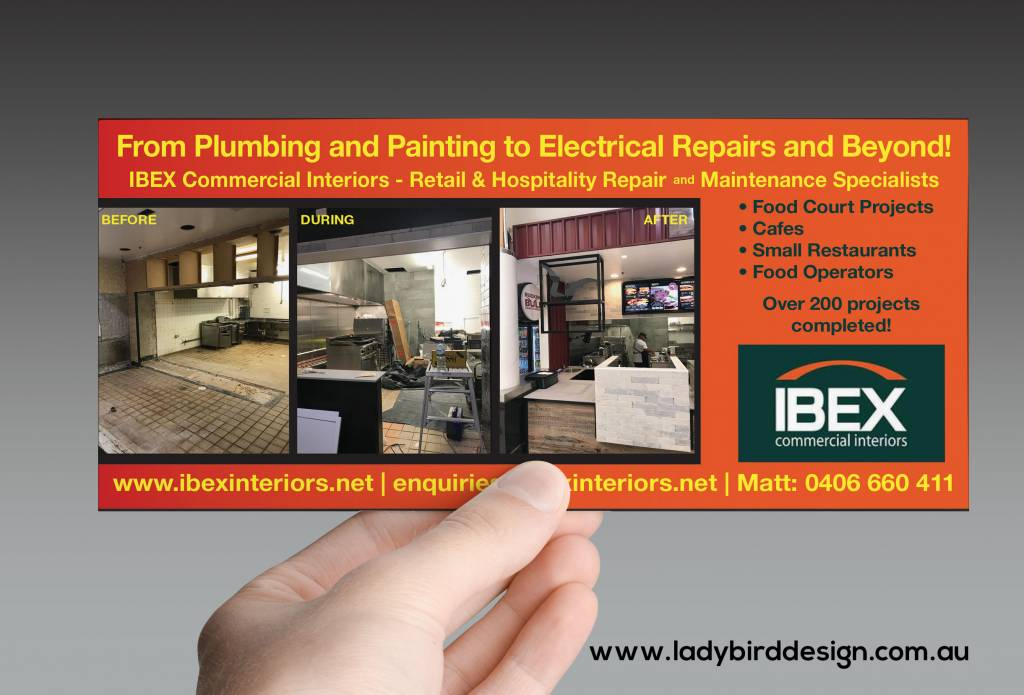 brochure flyer construction renovation marketing perth