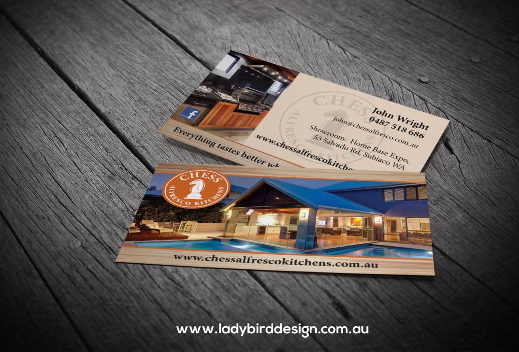 business card carpenter builder renovation graphic design perth