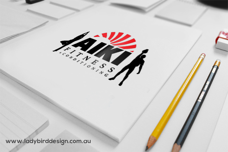 Logo branding Gym Fitness Health Sport Arts Joondalup Perth
