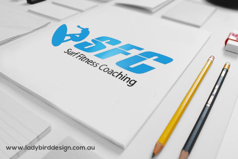 Logo branding surfing sport coaching perth