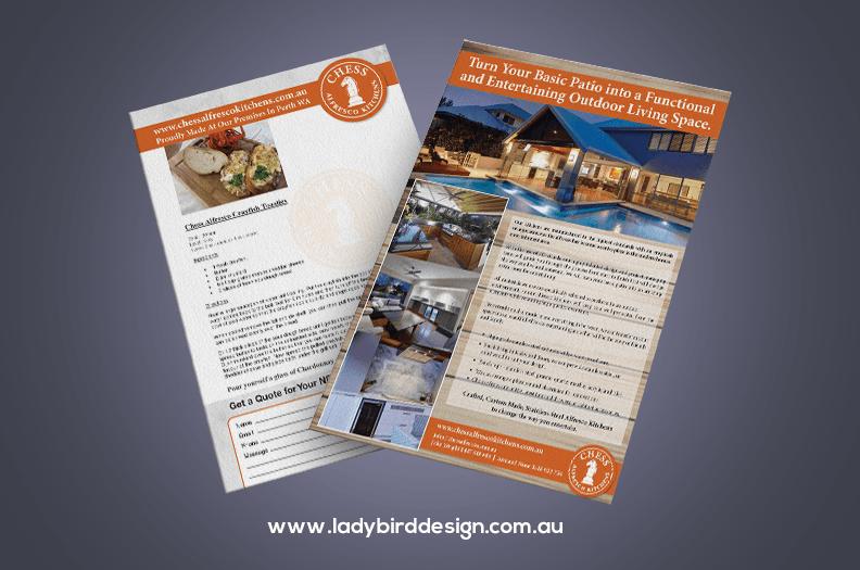 brochure renovation kitchen garden alfresco perth