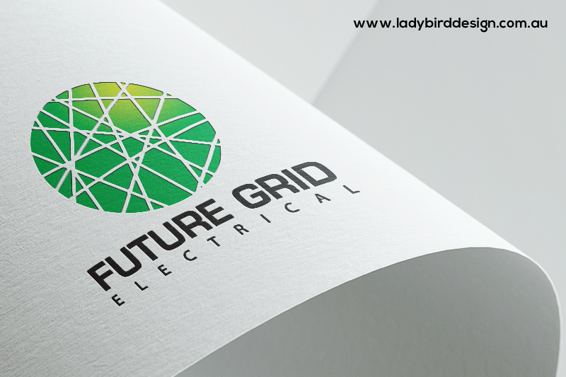 Logo branding Electrician solar Joondalup Perth