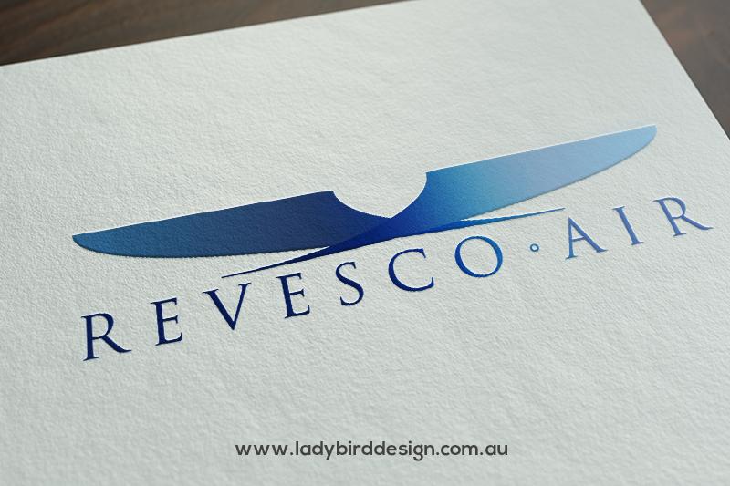 logo brand icon aviation travel courier perth