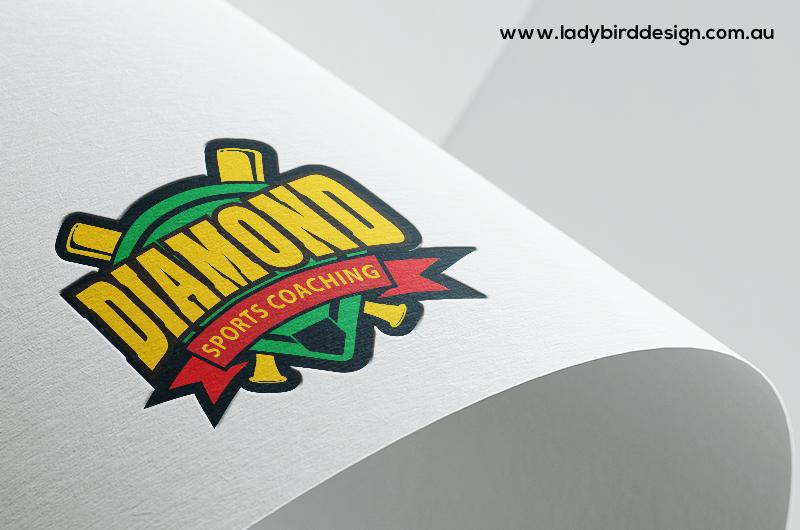 logo design sport coach club kids perth