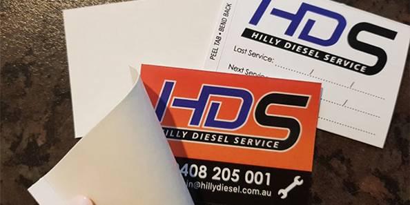 labels car service mechanic dealership