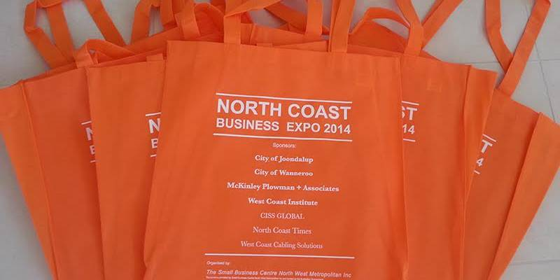 printed bags business stationery perth
